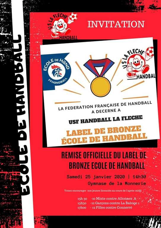 Label Ecole de handball